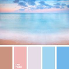 Color Palette It is good to use delicate pastel shades of pink and blue in bedroom because they relax and calm. Color Schemes Colour Palettes, Colour Pallette, Color Combos, Summer Color Palettes, Pastel Shades, Pastel Colors, Paint Colors, Decoration Palette, Color Balance
