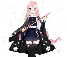 Pretty Anime Girl, Beautiful Anime Girl, Kawaii Anime Girl, Anime Art Girl, Anime Oc, Oc Manga, Anime Character Drawing, Cute Anime Character, Demon Slayer