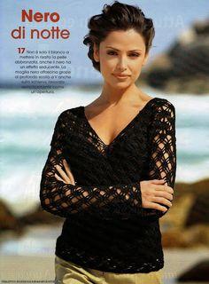 Delicadezas en crochet Gabriela: Suéter