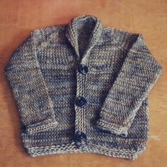 Free Knitting Pattern - Twisted Stockinette Baby Cardigan — The Black Squirrel