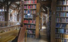 Domestic Sluttery: Sluttery Travels: Gladstone's Library, Cheshire - STAY in a library !!