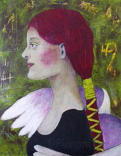Breite Deine Flügel aus  - Kunst von Piarom  - inspiriert von Da Vinci