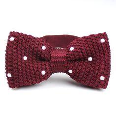 Men Knitted Bowties Mens Neckties Men's Bow Ties - Fashion Self ties Vintage Knitting Bowties Wedding Bow Ties for Men