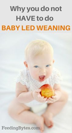Why you do not have to do Baby Led Weaning Baby Led Weaning First Foods, Baby First Foods, Baby Weaning, Weaning Toddler, Feeding Baby Solids, Baby Schedule, Natural Parenting, Homemade Baby Foods, Baby Development