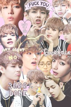 this is my 2nd favorite collage of v