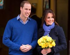 Shortly after news of the royal pregnancy broke, Kate Middleton made her first appearance leaving the King Edward VII Hospital, where she was being treated for acute morning sickness. But despite her delicate condition, the Duchess of Cambridge was all smiles as she appeared outside in a cozy blue coat and scarf next to her husband Prince William on December 6, 2012.