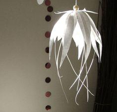 DIY: Paper flower ornament