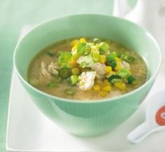 Chicken and sweetcorn soup | Healthy Food Guide