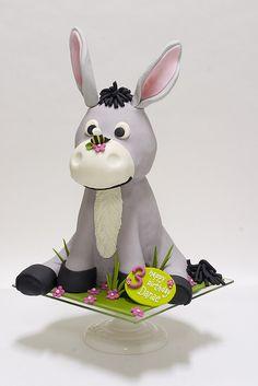 Donkey Cake ~ adorable!