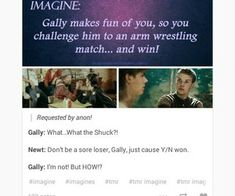 The Maze Runner Imagines by alycat28 on We Heart It