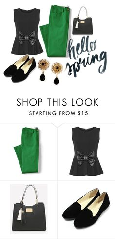 """Hello Dolly"" by cschorr-1 on Polyvore featuring Lands' End, WearAll, Dolce&Gabbana and plus size clothing"