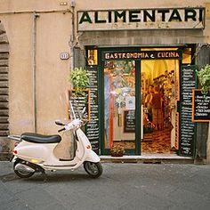 Vespa in Lucca, Italy