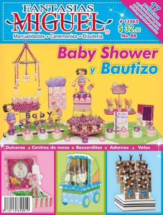 Revista88  Ideas para Baby Shower y Bautizo