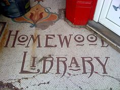 Mosaic Lettering