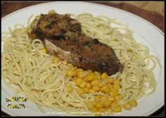 Jerk Fish Spaghetti - Jamaican Food / Jamaican Dinners - MiQuel Marvin Samuels http://jamaicandinners.com/