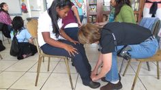 Costa Rica. March 2013. Shoe Fitting.
