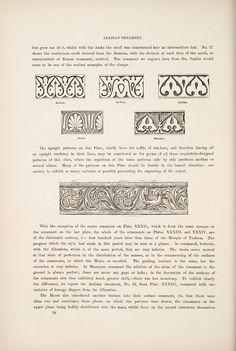 Decorative Arts: The grammar of ornament: Arabian ornament