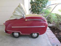 Fell in LOVE with this Frankonia Car Stroller, (includes a little trunk!) Found on ebay: http://www.ebay.com/itm/Vintage-Frankonia-German-Car-Model-Stroller-Buggy-Pram-1950s-San-Francisco-/140911309892?pt=Strollers=item20cef7f444