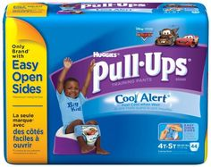 Pull-Ups Training Pants with Cool Alert, Boys, 4T-5T, 44 Count $19.47