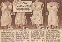 1950s corselet