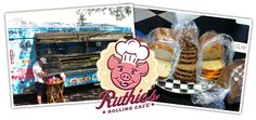 Ruthie's Rolling Cafe:  I had a grilled cheese with ham on sourdough - IT WAS SOOOO GOOD.