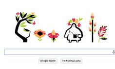 Google Doodle does its best to promote the Spring Equinox