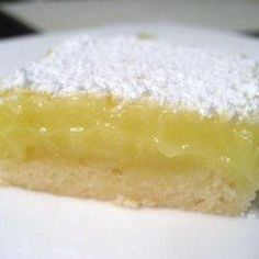 I got the original recipe in 1978 when I moved to KC. I was in my mid 20s and my new neighbor, who was in her 50s was a fantastic cook. She shared these luscious lemon bars with me. I have added more fresh lemon juice and more fresh lemon zest to the original recipe because we love the more intense flavor. You can easily make this recipe GLUTEN FREE by substituting a recipe-ready gluten free flour (I have used both Namaste and Domata successfully) to replace the all purpose flour.