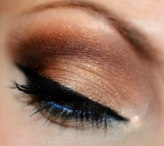 Golden Brown Look