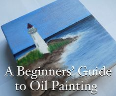 A three-part article for beginning oil painters showing the simple, step-by-step process from painting supplies and an idea to a completed oil painting.