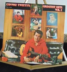 Conway Twitty Lp Greatest Hits Vol 1 Near Mint (Gatefold Cover) #AlternativeCountryAmericanaContemporaryCountryCountryPopEarlyCountryTraditionalCountry