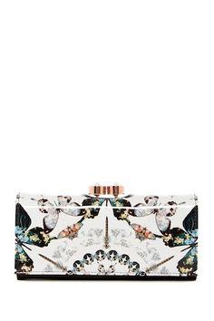 d3375e38f Augusti Butterfly Crystal Framed Matinee Wallet Ted Baker Handbag