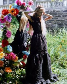 My Bohemian Queen thunderflowers:  Vogue Nippon, September 2006Myths of the Forest by Carter Smith