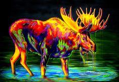 Motley Moose Peinture