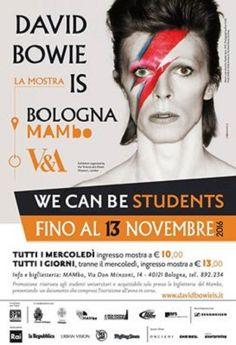 David Bowie is dal 13 al 30 ottobre nuovi appuntamenti per raccontare licona pop inglese