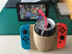 Nintendo Switch Beer / Drink / Beverage Can Holder - Switch Nintendo - Switch Nintendo for sales - - Nintendo Switch Beer / Drink / Beverage Can Holder All Games, Games To Play, Playing Games, Video Game Storage, Nintendo Switch Accessories, Car Accessories, Hobbies For Adults, Nintendo Switch Games, Can Holders