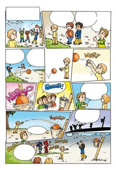(2019-05) Hvad siger de på stranden? Speech Therapy Activities, Speech Language Pathology, Speech And Language, Sequencing Pictures, Sequencing Cards, Comic Strip Template, Comic Strips, Spot The Difference Kids, Learning Support