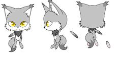 Silver - wolf kwami by WolfyPL.deviantart.com on @DeviantArt
