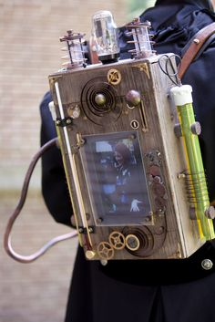 Steampunk Camera Backpack