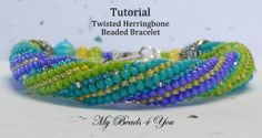 **This weekend only** Buy 3 Patterns - Get 1 Pattern Free!  Of equal or lesser value, just by three, Let me know which pattern you would like for free in the notes section at checkout. Offer can not be combined with any other offer. PDF Beading Tutorial PDF Beading Pattern Twisted by mybeads4you, $8.00