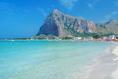 Don't feel like you're on vacation unless you've got sand between your toes? Here are the 20 best white sand beaches in Europe to lay your towel. Tourist Places, Places To Travel, Places To Visit, Holidays Around The World, Around The Worlds, Palermo, Europe Beaches, Europe Holidays, Sicily Italy