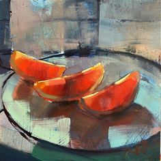 "Love the colors and chunky texture Daily Paintworks - ""Blood Oranges "" - Original Fine Art for Sale - © Thomas O'Brien Still Life Artists, Art Thomas, Realistic Pencil Drawings, Gallery Website, Fruit Painting, Painting Still Life, Art Graphique, Beautiful Paintings, Painting Inspiration"