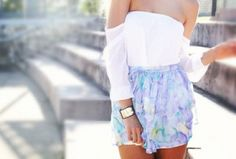 Off the shoulder and flowy