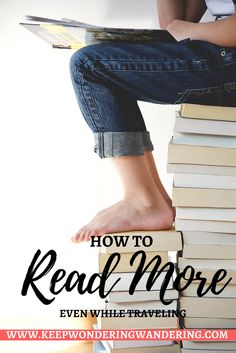 Here are some great tips and tricks on how to read more! I work a full-time job and am a full-time blogger but I still make reading a priority!