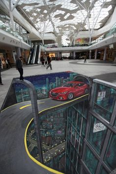 Mazda at Westfield, London | 3D Joe and Max