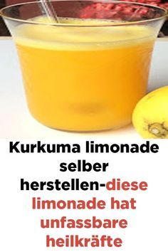 Kurkuma limonade selber herstellen-diese limonade hat unfassbare heilkräfte