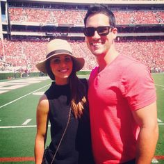 Andi Dorfman's First Big Football Weekend With Josh Murray — How'd She Do? See Andi and Josh's College Football Weekend! Remember when, during The Bachelorette 10's Hometown Dates, Andi Dorfman stressed that Josh Murray's football-crazed family might be too much for her to handle? No? We're not surprised, considering how quickly she got over that sentiment. The most recent evidence: The Dorf's trip to Josh's alma mater to take in some of the ol' pigskin.