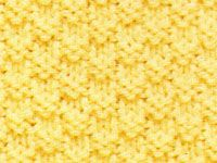 """Box Stitch - one of 6 cool knitting stitches on this site.  This one reminds me of my very first scarf I knitted in college.....my friend, Deirdre, who taught me to knit called it the """"popcorn stitch""""."""