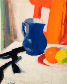 Blue and Orange (Francis Campbell Bolleau (F.C.B.) Cadell - )