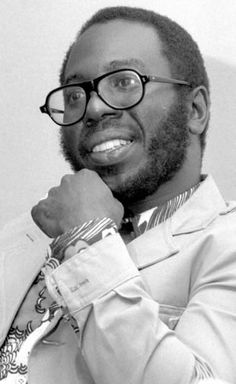 "Curtis Mayfield. One of the kings of the Post-Industrial era and the man who sang, ""we people who are darker than blue…"""