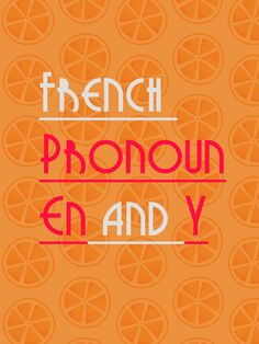 """""""en"""" and """"y"""" are two very useful and multifunctional pronouns. Erase any confusions with this article."""